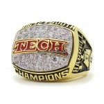2008 Texas Tech Red Raiders NCAA Big 12 Championship Ring