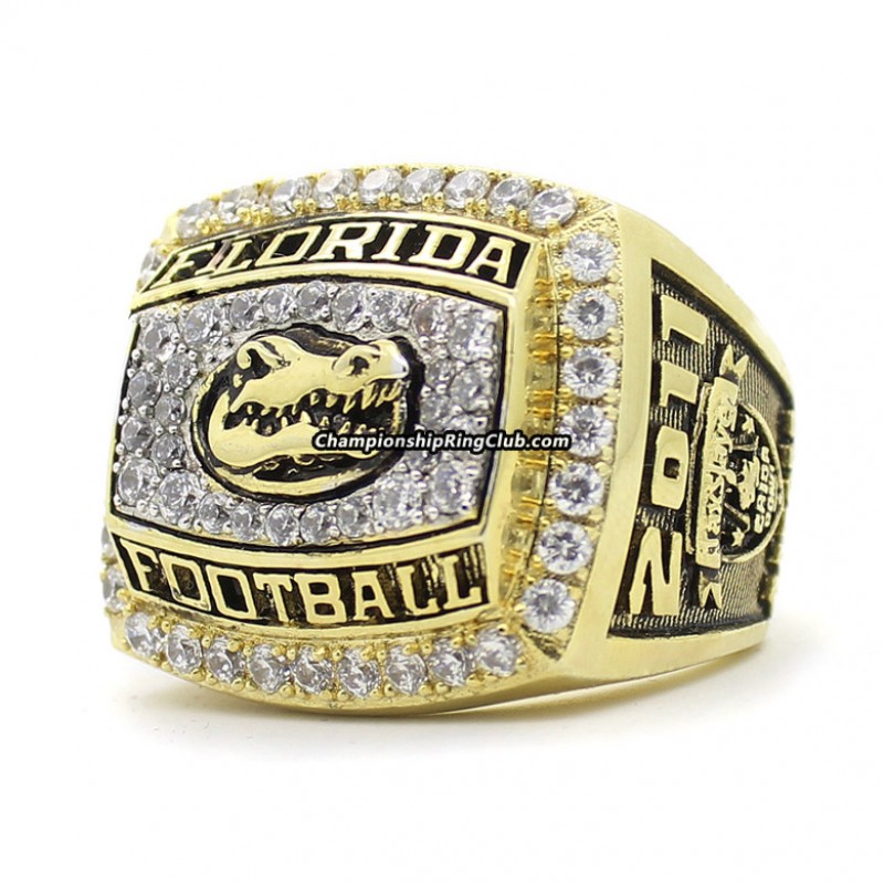 2011 Florida Gators Gator Bowl Championship Ring