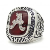 1999 Alabama Crimson Tide NCAA SEC Championship Ring