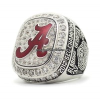 2012 Alabama Crimson Tide NCAA SEC Championship Ring
