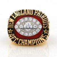 1985 New England Patriots AFC Championship Ring
