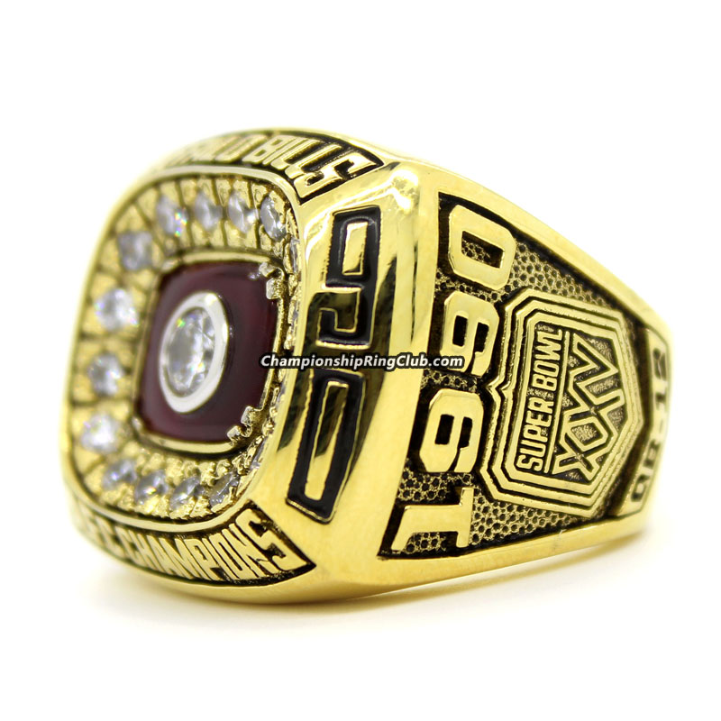 1990 Buffalo Bills AFC Championship Ring