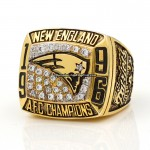 1996 New England Patriots AFC Championship Ring