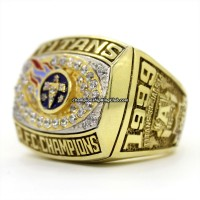 1999 Tennessee Titans AFC Championship Ring