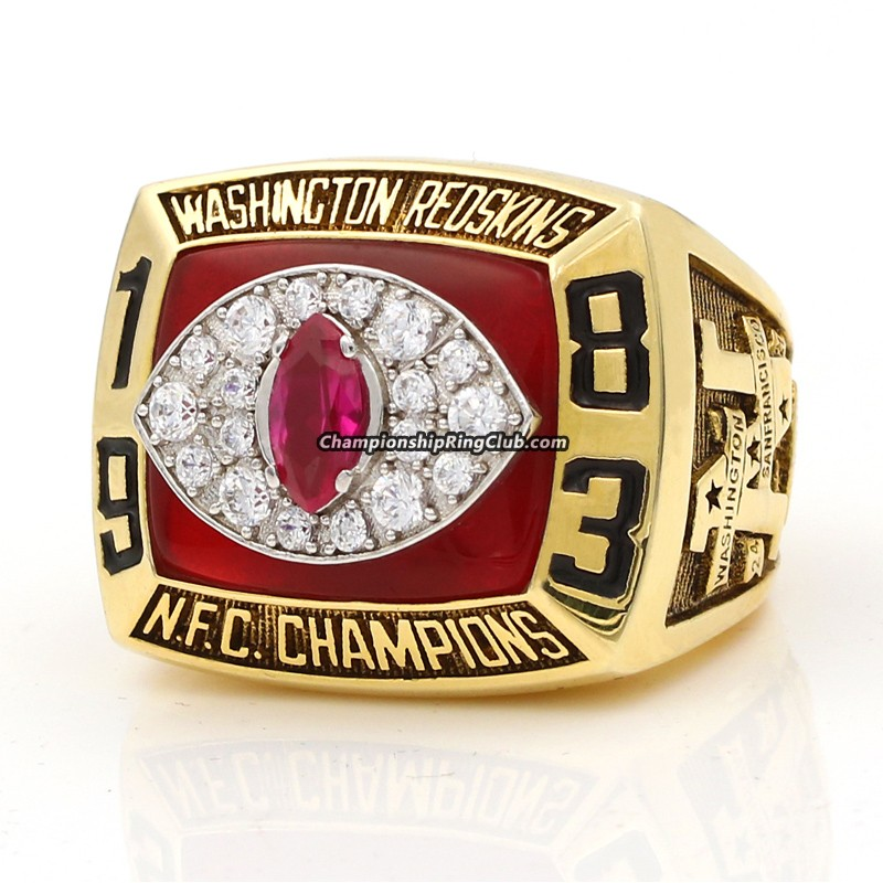 1983 Washington Redskins NFC Championship Ring