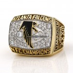 1998 Atlanta Falcons NFC Ring