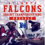 Presale:2016 Atlanta Falcons NFC Championship Ring