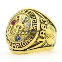 1963 New York Yankees ALCS Championship Ring