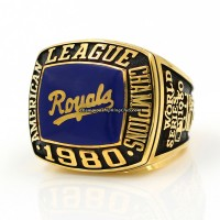 1980 Kansas City Royals ALCS Championship Ring