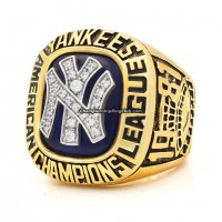1981 New York Yankees ALCS Championship Ring