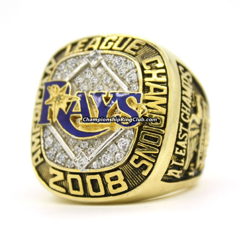 2008 Tampa Bay Rays ALCS Championship Ring