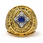 1953 Brooklyn Dodgers NL Championship Ring