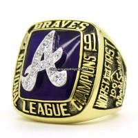 1991 Atlanta Braves NLCS Championship Ring