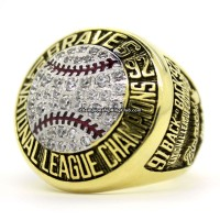 1992 Atlanta Braves NLCS Championship Ring
