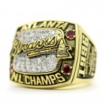 1996 Atlanta Braves NLCS Championship Ring