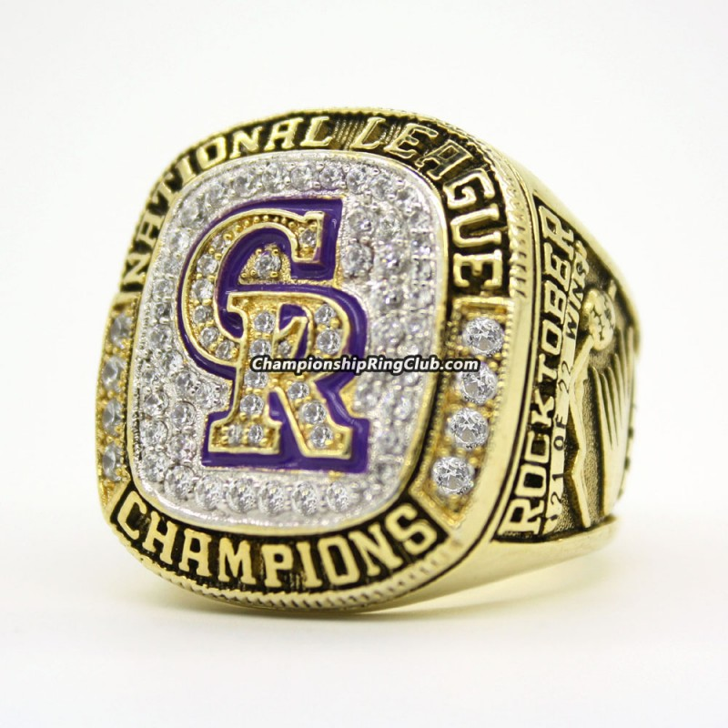 2007 Colorado Rockies NLCS Championship Ring