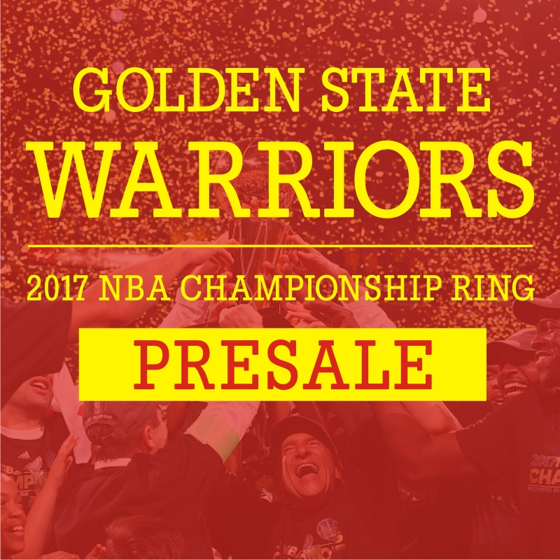 Presale: 2017 Golden State Warriors Championship Ring