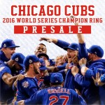 Presale:2016 Chicago Cubs World Series Championship Ring